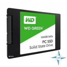 """SSD 2.5"""" SATA-III 120Gb WD Green WDS120G2G0A"""
