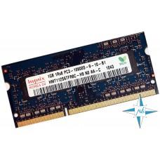 Модуль памяти DDR-3 noECC Unbuf SO-DIMM 1 Gb Hynix PC3-10600S HMT112S6TFR8C-H9 NO AA-C