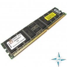 Модуль памяти DDR ECC Reg DIMM, 1 Gb, Kingston KVR400D8R3A/1G, 400 Mhz, PC3200