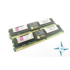 Модуль памяти DDR-2 ECC FB DIMM, 8 Gb, Kingston KTH-XW667/8G, 667MHZ PC2-5300 CL5
