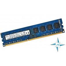 Модуль памяти DDR-3 noECC UnBuf DIMM, 8Gb, Hynix, PC3-12800U (HMT41GU6AFR8A-PB/8G)