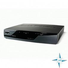 Маршрутизатор Cisco 800 model 851-K9, 4xRJ45