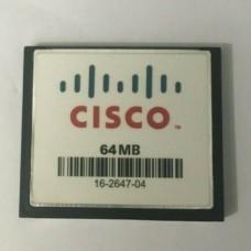 Карта памяти Cisco Systems 16-2647-02 64mb Compact Flash Card