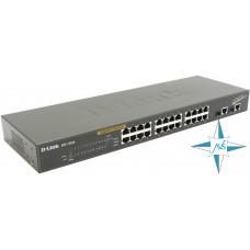 Коммутатор D-Link Gigabit Smart Switch, DES-1226G, порты 26xRJ45, 2xSFP