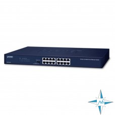 Коммутатор Planet  Switch model FNSW-1601, порты 16xRJ45