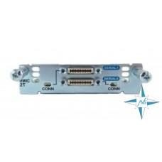 Модуль интерфейсный Cisco HWIC-2T  SERIAL MODULE (800-03181-01G0)