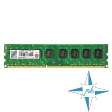 Модуль памяти DDR-3 noECC Unbuf DIMM, 4Gb, Transcend, 1333 U, 2Rx8